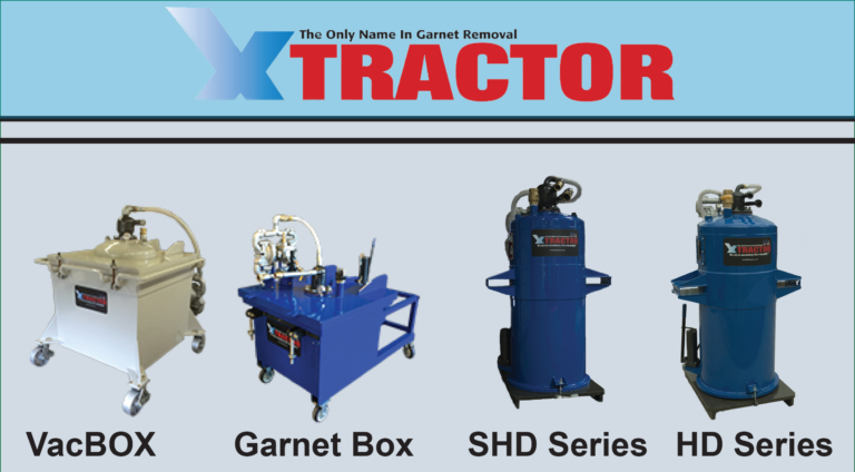 Waterjet Garnet Abrasive Removal and Disposal Systems - Extractor